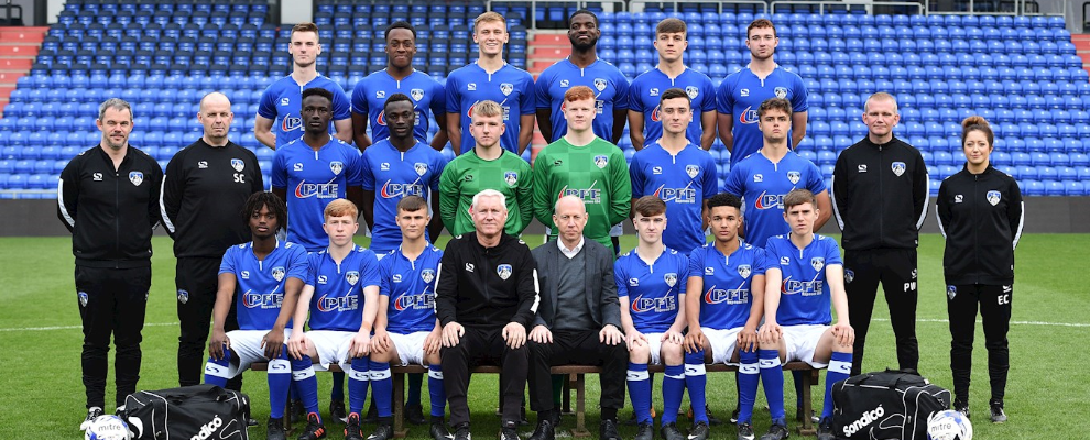 Oldham Athletic Youth Team 2017/18